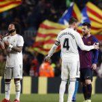 """أمام أنظار كريستيانو رونالدو.. ريال مدريد يهزم البارصا ويستعيد صدارة """"الليغا"""""""
