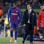 برشلونة يعلن مغادرة لاعبه نيلسون سيميدو المستشفى