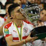 أشرف بنشرقي أفضل لاعب في الزمالك المصري لهذا الموسم