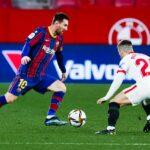 إشبيلية يحسم مواجهة برشلونة بهدفين و بونو رجل المباراة