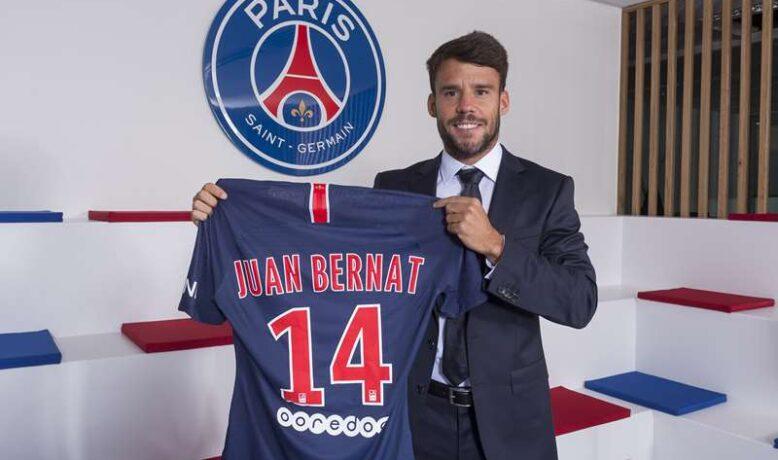 خوان بيرنات يجدد رفقة النادي الباريسي