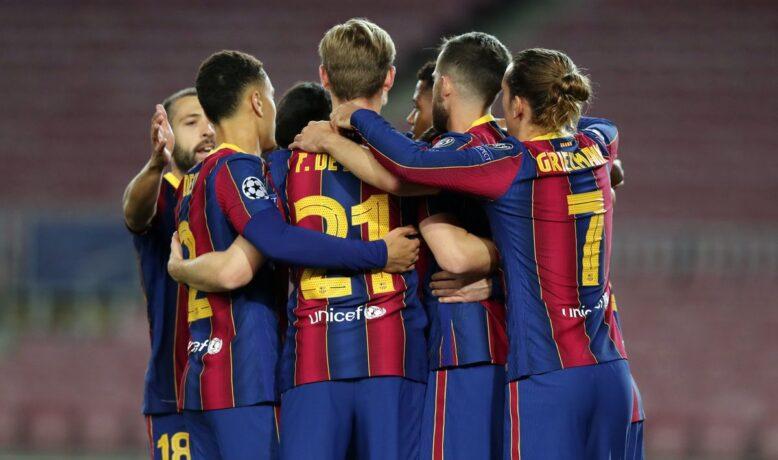 تشكيلة الرسمية لبرشلونة ضد هويسكا