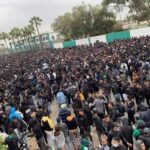 """""""الكورفا سود"""" تنهي وقفتها الإحتجاجية بترديد شعارات تطالب برحيل المكتب المسير للرجاء والسلامي"""
