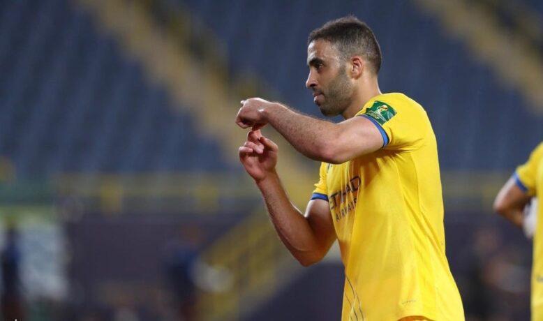 أمام أنظار رونار .. حمد الله يسجل هدفه رقم 100 بقميص النصر السعودي