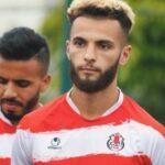 رضا الجعدي لاعب الفتح الرباطي يصاب بارتجاج