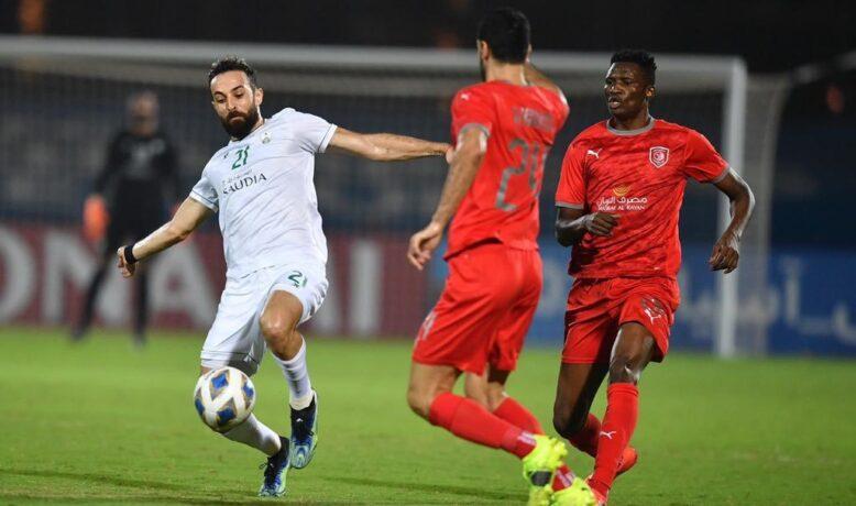 تعادل مثير يخرج الأهلي السعودي و الدحيل القطري من دوري أبطال أسيا