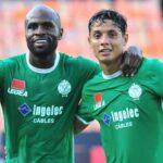 الرجاء يتحدى التدخلات الخشنة من لاعبي نامونغو ويخرج فائزا بثلاثية في الشوط الأول