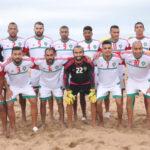 منتخب الشاطيء بالمجموعة الثانية في كأس إفريقيا