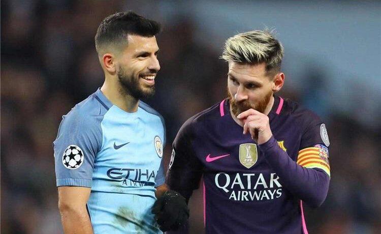اغويرو سيلتحق بميسي في برشلونة الموسم المقبل