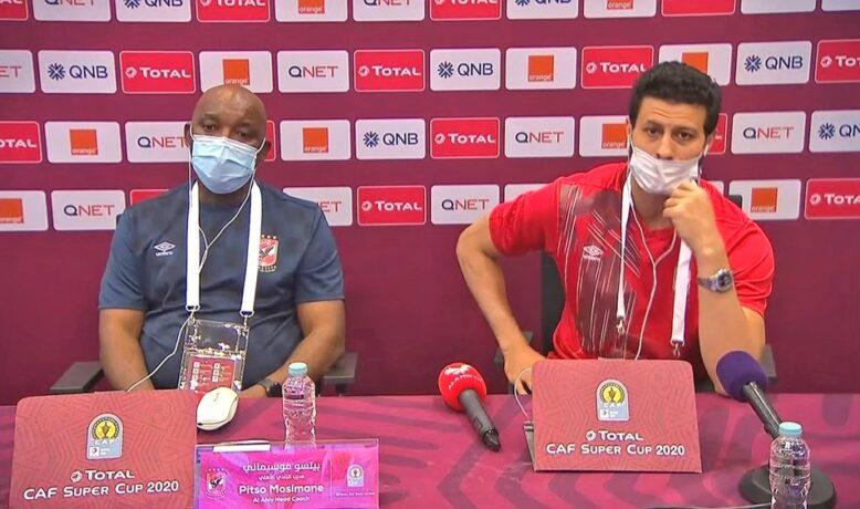 موسيماني يقرّ بصعوبة مواجهة نهضة بركان ويؤكد الحظوظ متساوية في الملعب