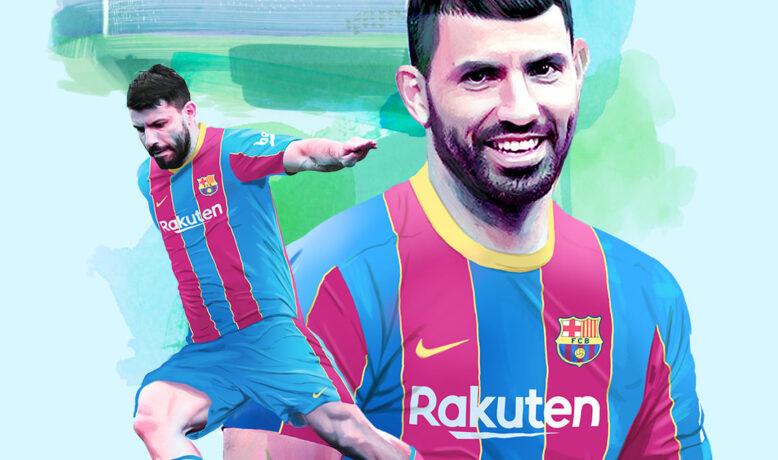 برشلونة يتعاقد مع نجم مانشستر سيتي سيرخيو أغويرو