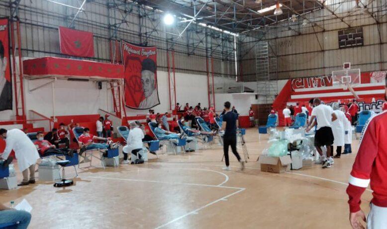 """'الوينرز"""" تسجل رقما قياسيا في حملة التبرع بالدم"""