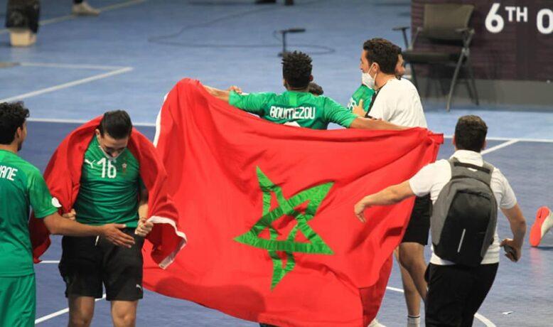 أسود الصالة يتوجون بلقب كأس العرب على حساب مصر