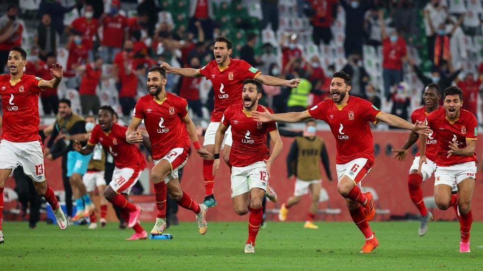 الأهلي المصري يتوج بالسوبر الافريقي للمرة السابعة في تاريخه