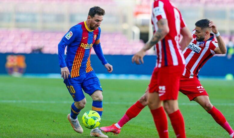 برشلونة يسقط في فخ التعادل أمام الأتليتيكو و يهدي الصدارة إلى زيدان