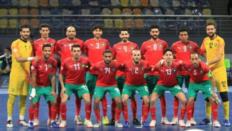 أسود الصالة يتأهلون إلى نهائي كأس العرب