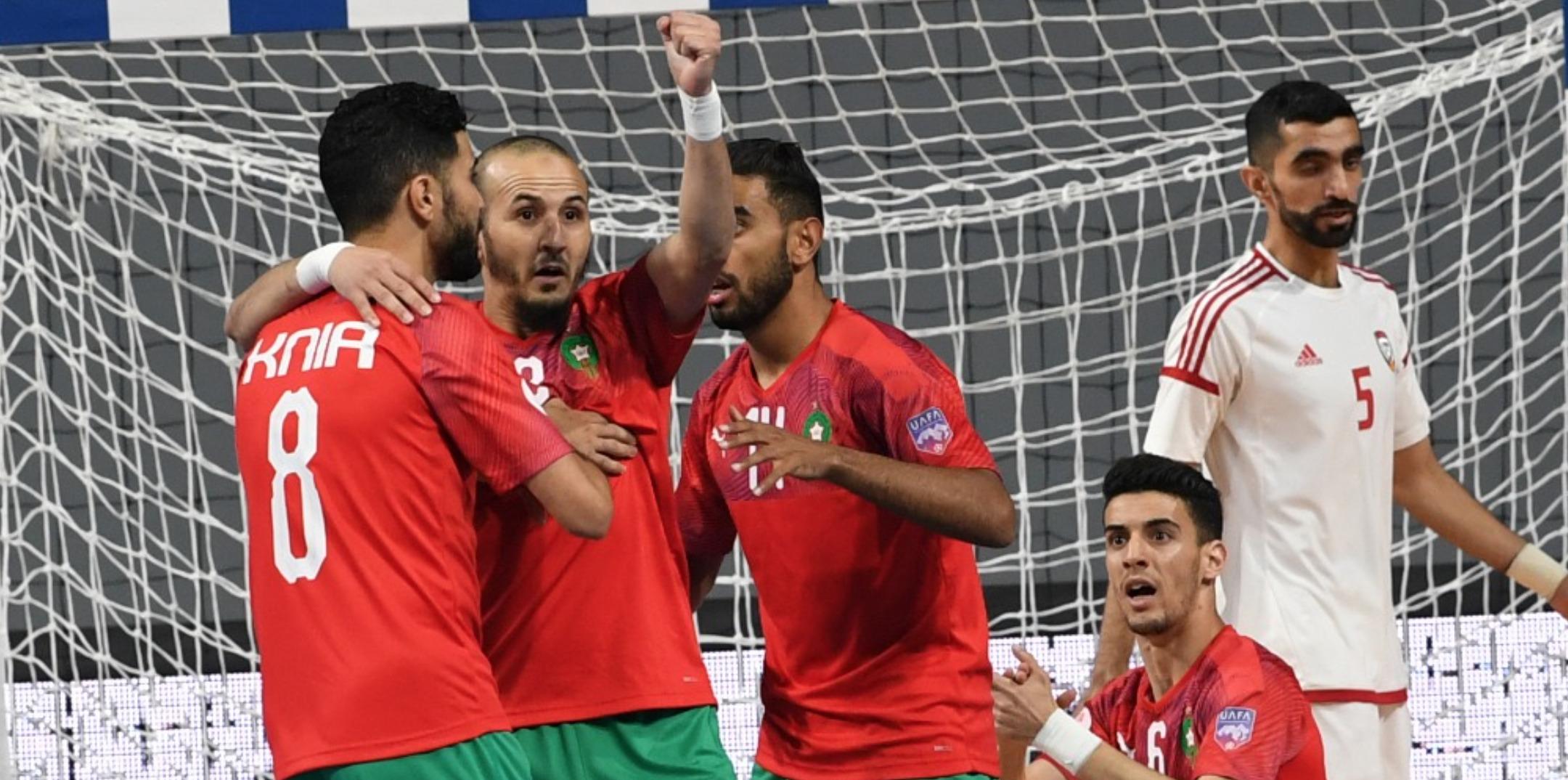 نهائي ثآري.. أسود الصالة في صراع حسم لقب كأس العرب أمام مصر
