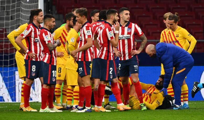 برشلونة يعلن قائمته لمواجهة أتليتكو مدريد في قمة