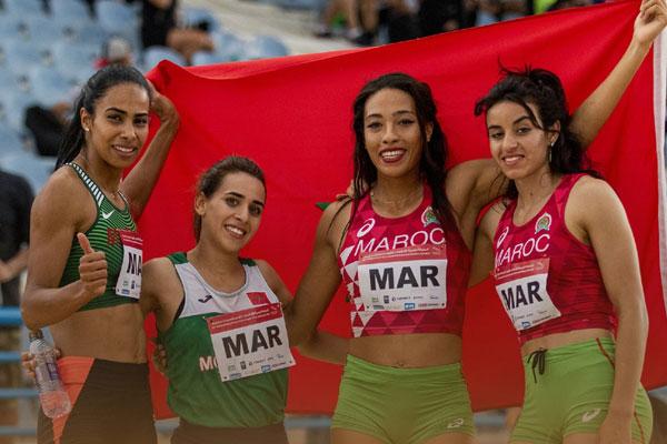 البطولة العربية الــ22 لألعاب القوى .. المنتخب المغربي يتوج باللقب بـ31 ميدالية