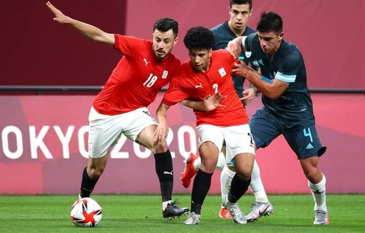 منتخب مصر الأولمبي لكرة القدم يخسر من الأرجنتين ويعقد موقفه في الأولمبياد