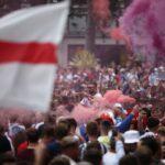 """بالآلاف.. جماهير إنجلترا تغزو ملعب ويمبلي قبل قمة """"اليورو"""" أمام إيطاليا"""