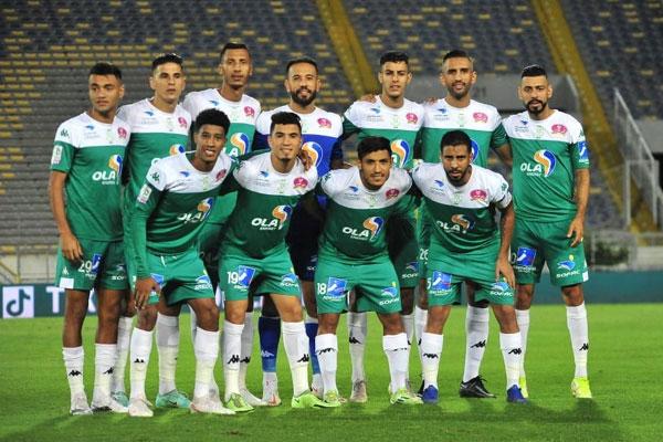 21 لاعبا في لائحة الرجاء لمواجهة اتحاد طنجة