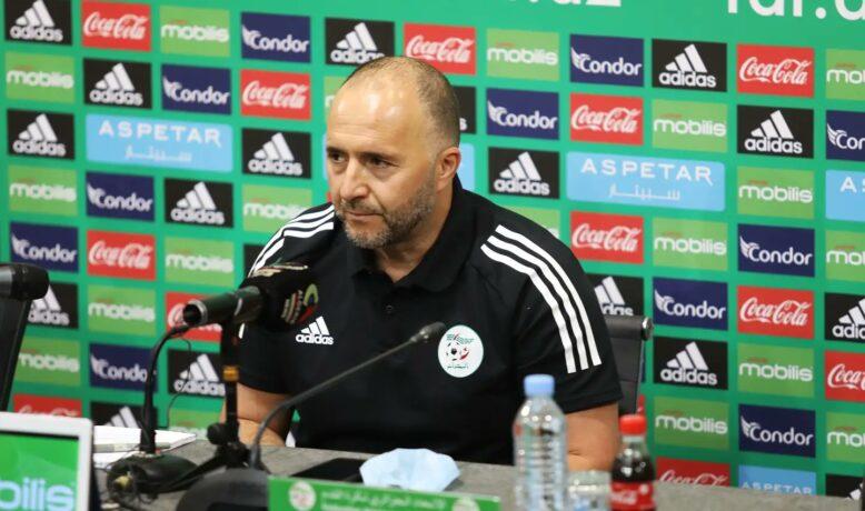 جمال بلماضي يفتح النار على مسؤولي الملاعب الجزائرية ويشيد بملعب مراكش