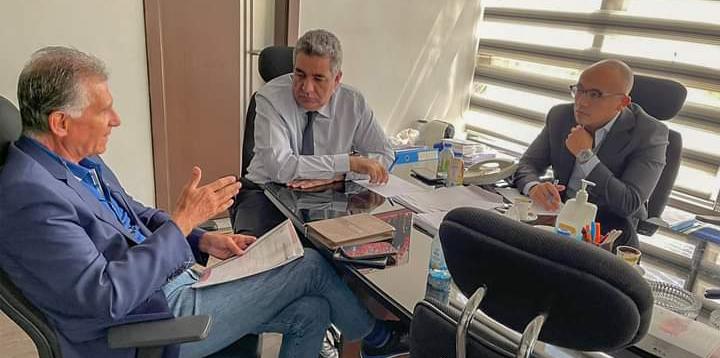 بالصورة ..أول ظهور لكارلوس كيروش مدرب المنتخب المصري  داخل اتحاد الكرة