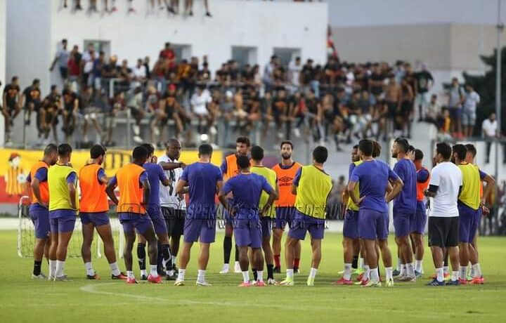 الترجي يستأنف تحضيراته لمواجهة الاتحاد وبداية الدوري التونسي
