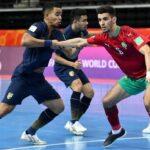 """المغرب يحرج البرازيل ويقصى من ربع نهائي """"مونديال الفوتسال"""""""