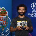 اختيار صلاح كأفضل لاعب في مباراة فريقه وبورتو