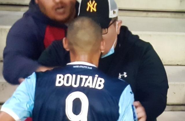 بوطيب في أول تعليق على شجاره مع أحد المشجعين