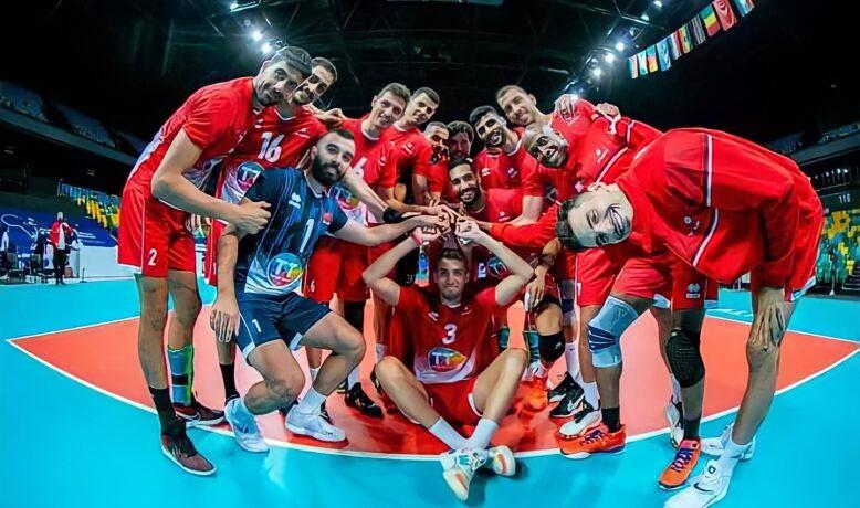 المنتخب التونسي يتصدر مجموعته في كأس إفريقيا لكرة الطائرة