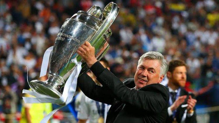أنشيلوتي: ريال مدريد اعتاد على الفوز بدوري الابطال.
