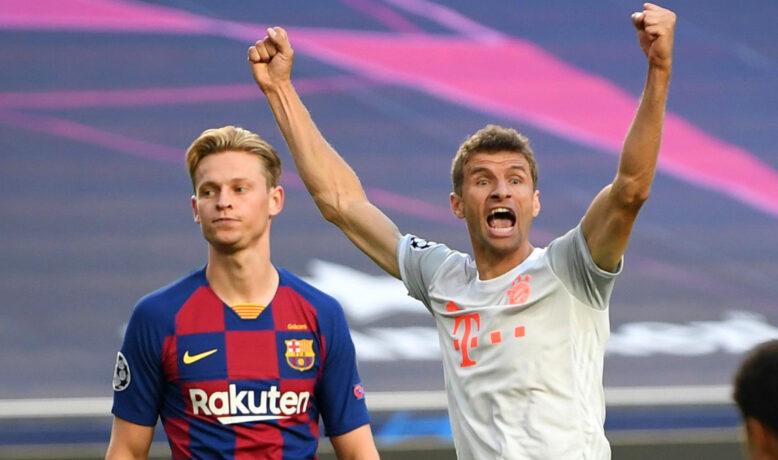 رقم يجعل برشلونة فريسة مولر المفضلة