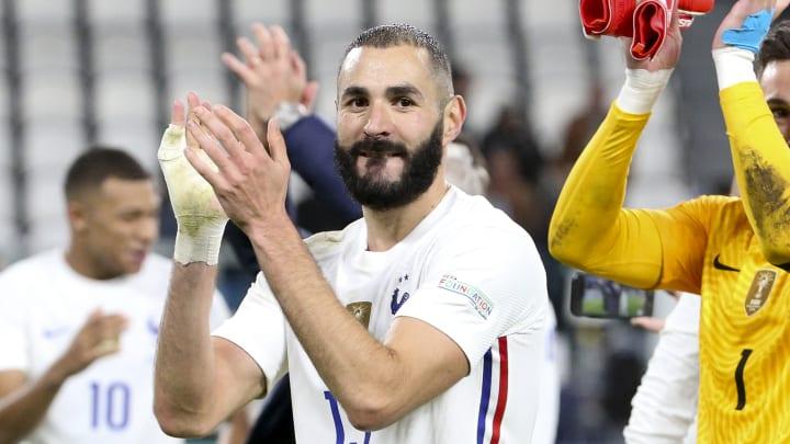 بنزيما بعد تتويجه الأول مع فرنسا.. اليوم حققت ما أريد