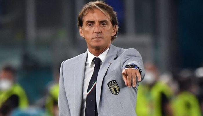 روبرتو مانشيني يحقق رقما قياسيا مع إيطاليا.