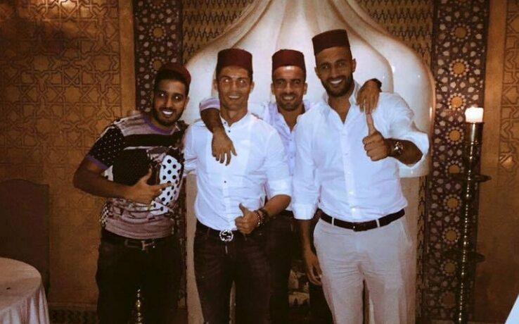مراكش تستقبل رونالدو وعائلته لافتتاح مشروعه الخاص