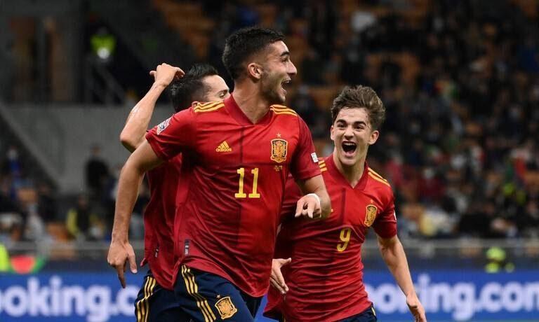 إسبانيا تهزم إيطاليا