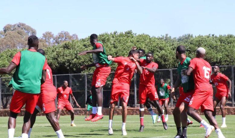 خصم المنتخب المغربي يجري أول حصة تدريبية بالرباط