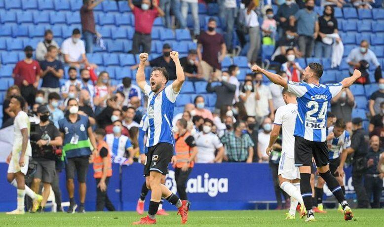 الريال يسقط أمام اسبانيول ويضيع فرصة تعزيز صدارته