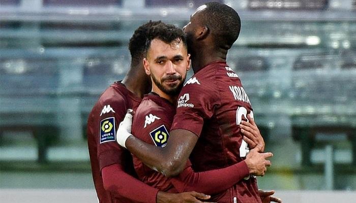 فريد بولحية يسجل أولى أهدافه في الدوري الفرنسي