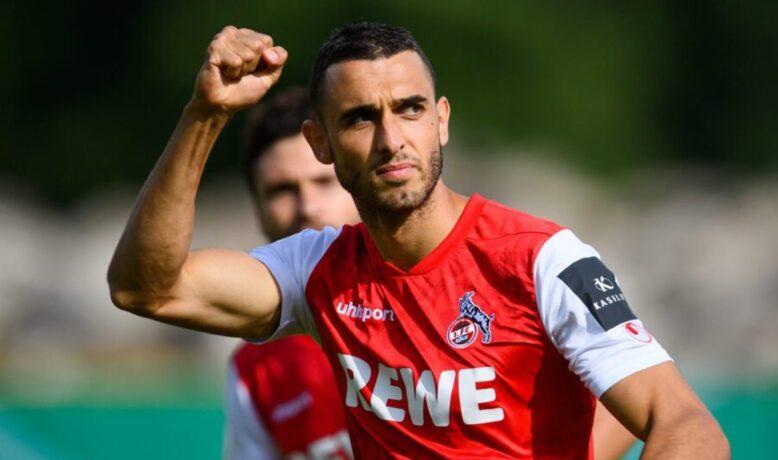 إلياس السخيري أفضل لاعب في نادي كولن الألماني
