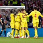 ليفربول ينتصر على أتليتيكو مدريد بثلاثية