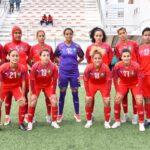 المنتخب الوطني النسوي يواجه نظيره الاسباني بهذه التشكيلة