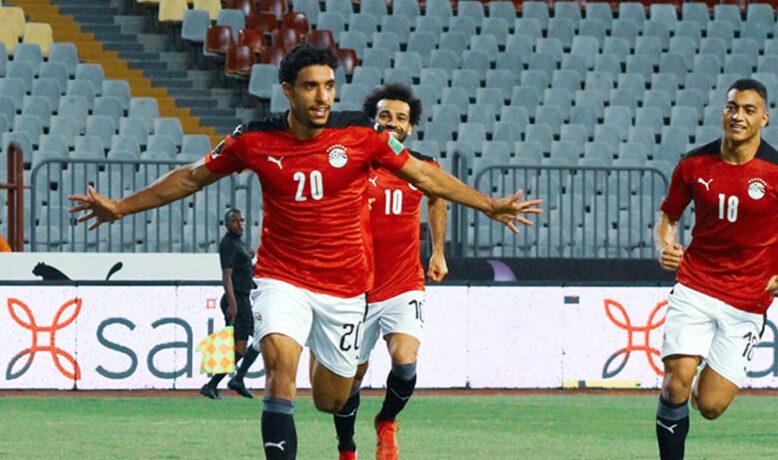 مرموش يقود المنتخب المصري للفوز على ليبيا