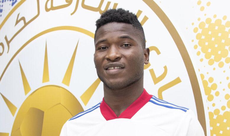 الشارقة يعير لاعب الجديد القادم من النادي الصفاقسي