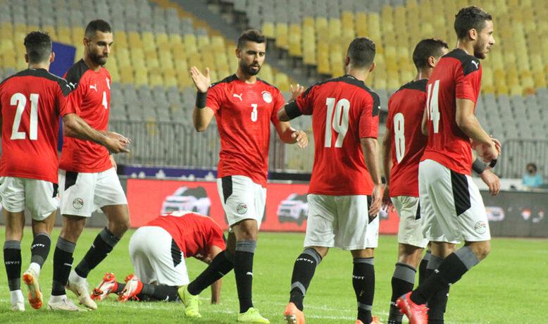 المنتخب المصري  يكتمل بانضمام صلاح استعدادا لليبيا